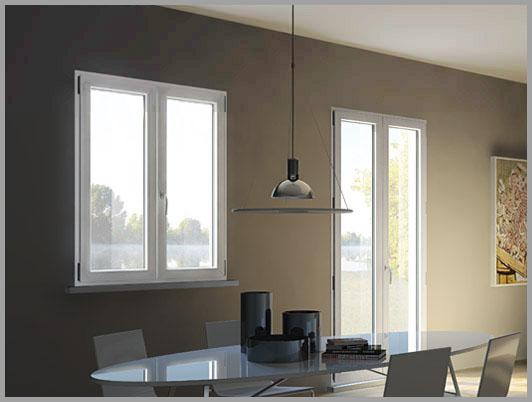Serramenti pvc legno alluminio vetreria orso biella - Tende attaccate alle finestre ...